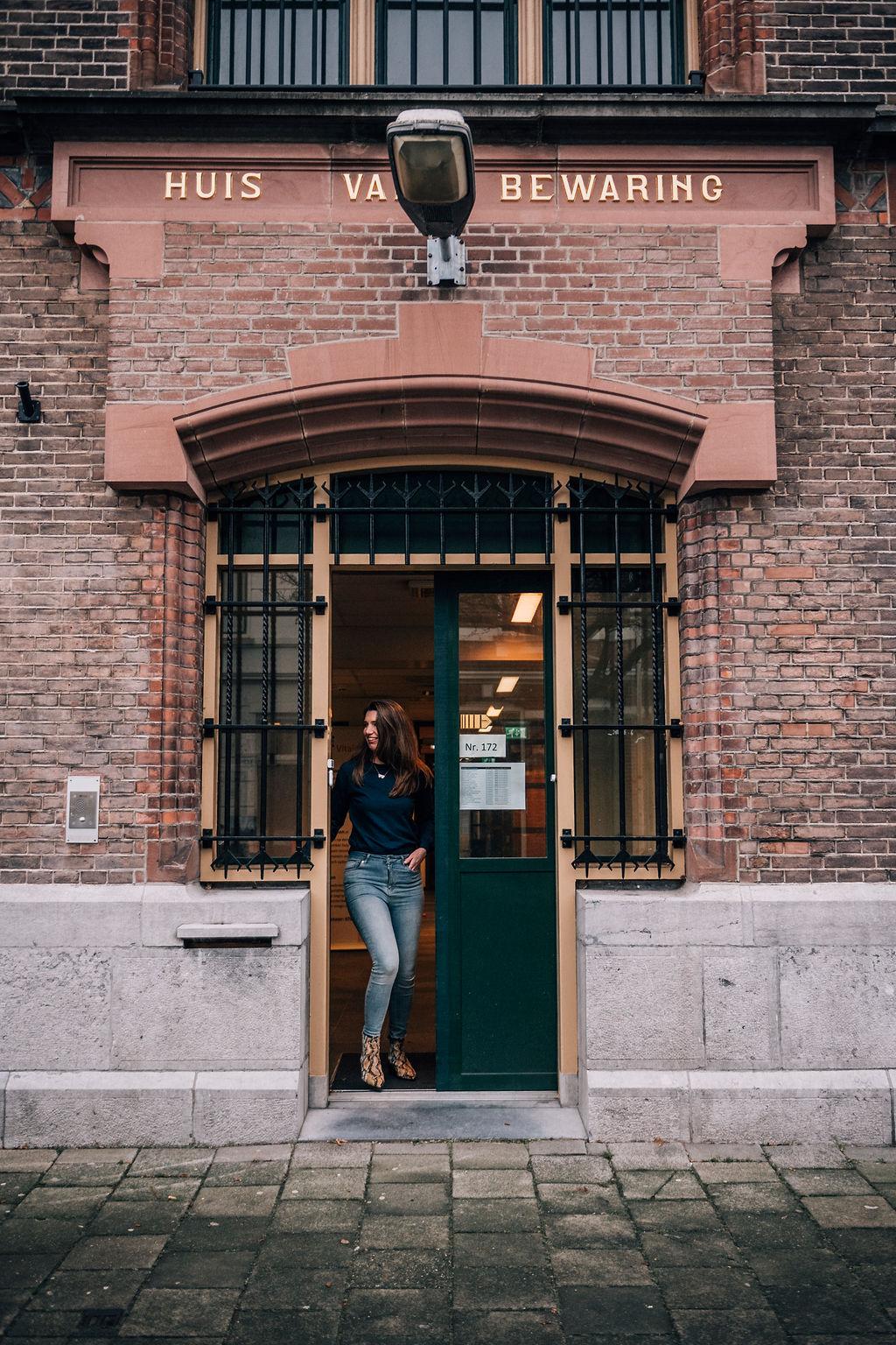 contact - haptotherapeut - haptonoom - gevangenis - vrouwengevangenis - huis van bewaring - afspraak - veerkracht haptonomie - haptonomie - Nicky de Troije - Breda